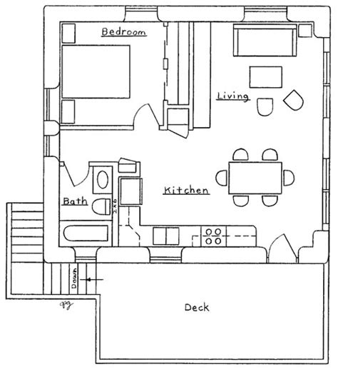 Apartment Garage Floor Plans Garage Apartment Plan