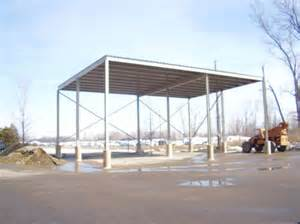 Steel Canopy Structure by Metal Canopies Steel Carports Amp Carport Structures