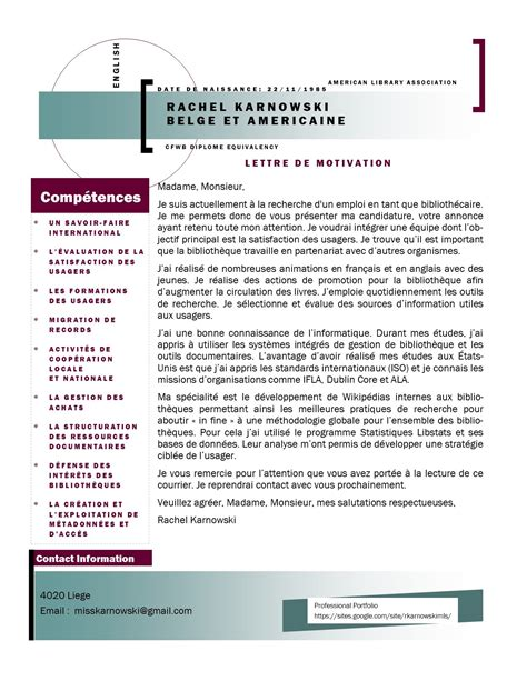 Lettre De Motivation Vendeuse Reassortisseuse Cv Et Lettre De Motivation Karnowski Mls
