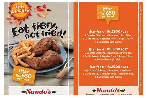 nandos discount vouchers deals