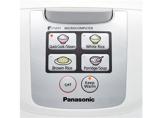 Rice Cooker Panasonic Sr Df181 panasonic sr df181 10 cup uncooked one touch