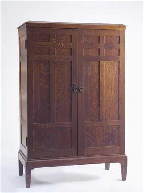 stickley armoire superb 20th c gustav stickley labeled two door armoire
