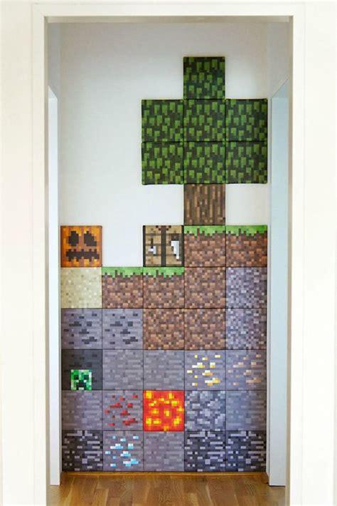 diy minecraft wall decor homemydesign