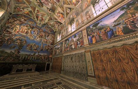 imagenes ocultas en la capilla sixtina este s 225 bado abre la replica de la capilla sixtina en toluca