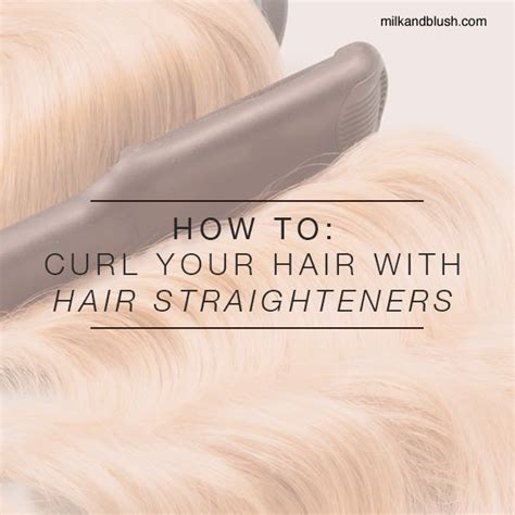 how to curl hair with straighteners flicks how to curl you hair with hair straighteners hair