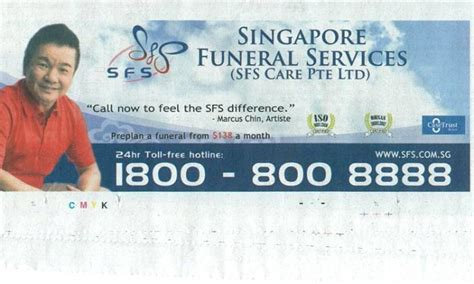straits times obituary section look local funeral services ad with celeb endorsement