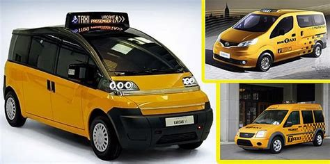 Yellow Cab Kuning pergantian taksi unik new york madina madani satu