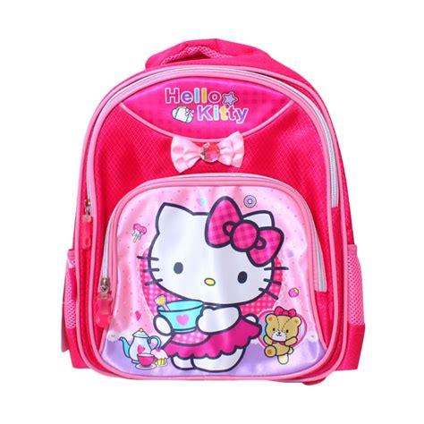 Tas Sekolah Anak Hello Tas Backpack Hello jual istana kado ransel dl0628 hello tas sekolah