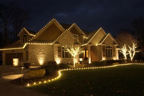 holiday light installation for your home residential