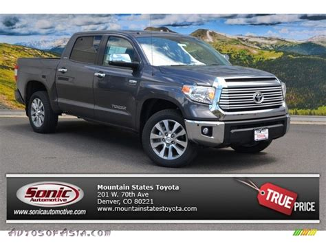 toyota tundra limited 2015 2015 toyota tundra limited crewmax 4x4 in magnetic gray