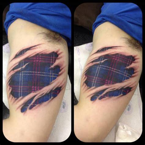 plaid tattoo designs 70 scottish tattoos and designs golfian
