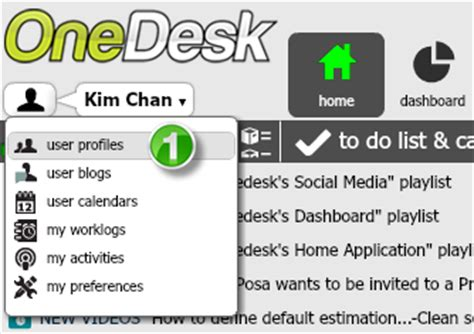 onedesk tip facilitating inter office communication