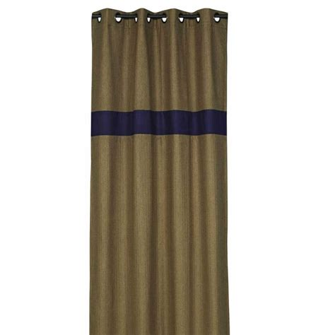 Rideau De Marron by Rideau Design Marron Et Bleu Fonc 233 140 X 270 Cm