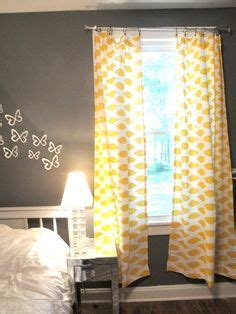 yellow and gray bedroom curtains ideas for households on bedrooms
