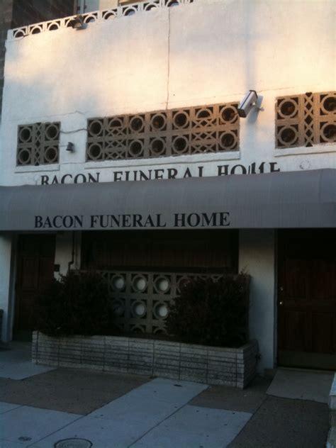 bacon funeral home bacon today
