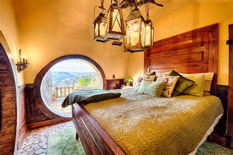 hobbit bedroom spend the night in this magical hobbit house tucked into