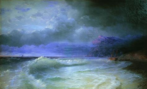 ivan aivazovsky the ninth wave graphicine the deep wave 1895 ivan aivazovsky wikiart org
