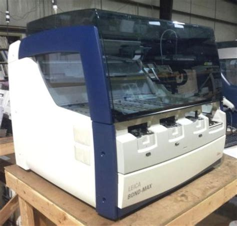 used leica bond max slide stainer for sale dotmed