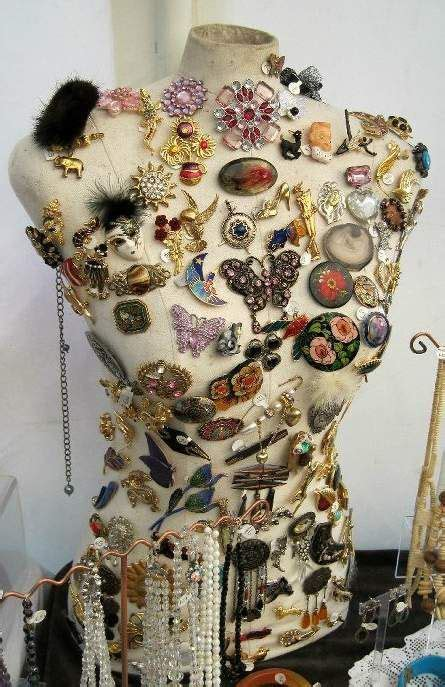 vintage dress forms  great jewelry displays