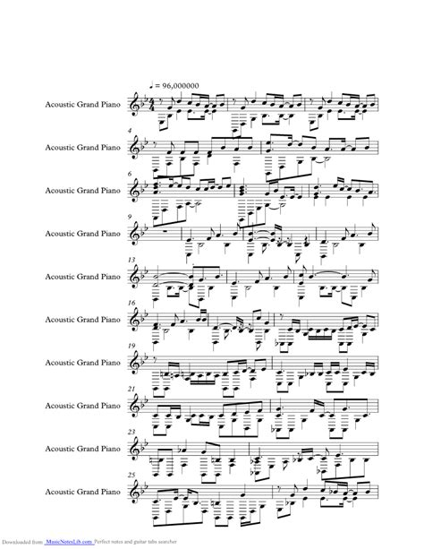simple  clean  sheet  notes  utada hikaru  musicnoteslibcom