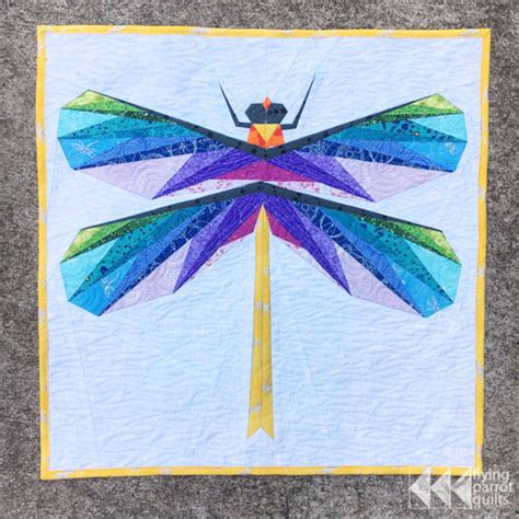 Dragonfly Patterns For Quilting by Dragonfly Mini Quilt And New Pattern Flying Parrot Quilts