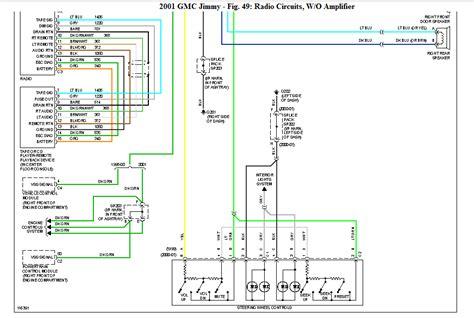 gmc sonoma stereo wiring diagram wiring diagram
