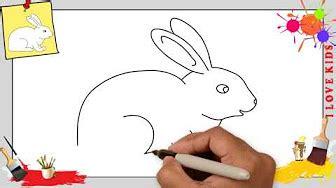 Wie Malt Einen Hasen by Kaninchen Hase Zeichnen Wie Malt Einen Hasen