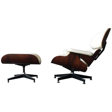 Rosewood Eames Lounge Chair rosewood and ivory herman miller eames lounge