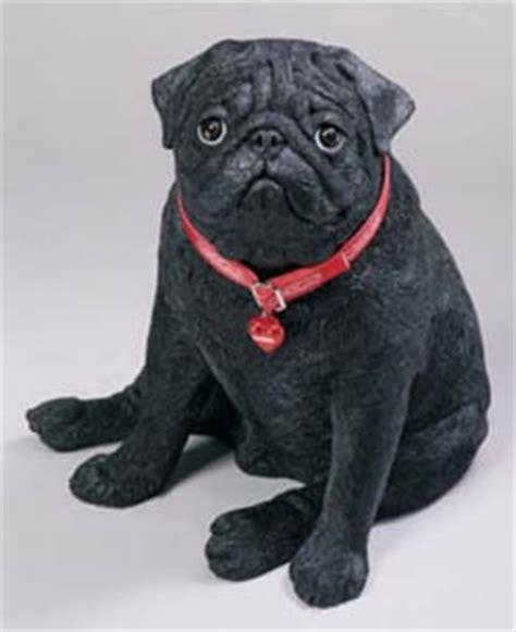 black pug stuff pugs dogbreed gifts pug figurines sculptures