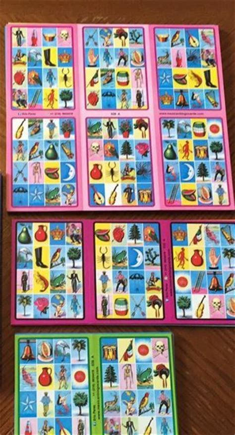 tablas de loteria mexicana para imprimir m 225 s de 25 ideas incre 237 bles sobre loteria mexicana cartas