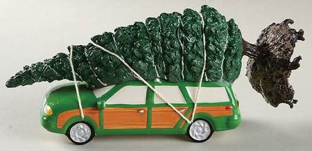 griswold christmas tree on the car department 56 national loon s vacation at replacements ltd