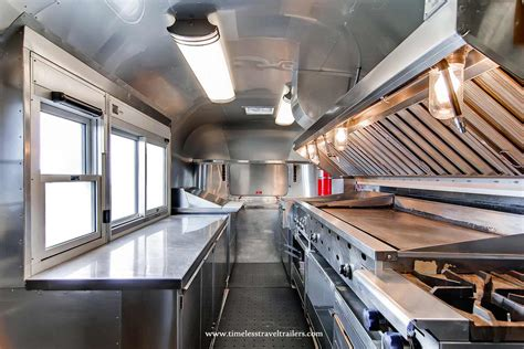High end kitchen in an Airstream
