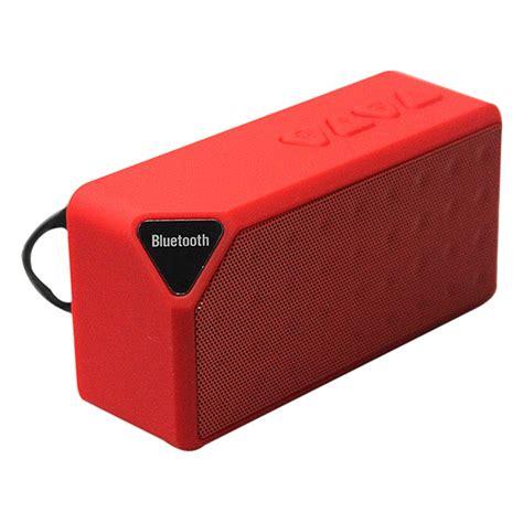 Speaker Bluetooth X3 mini x3 bluetooth wireless speaker tf fm radio mic