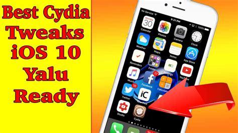 best tweak cydia best five ios 10 2 cydia tweaks yalu jailbreak february