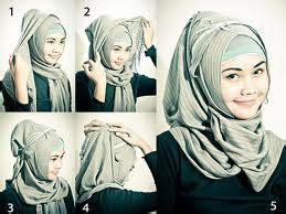 Jilbab Langsungan Modern cara memakai jilbab untuk pemilik wajah bulat dewi neelam cara memakai jilbab