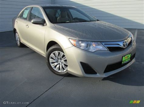 Toyota Camry Creme Brulee 2014 Creme Brulee Metallic Toyota Camry Le 97358552