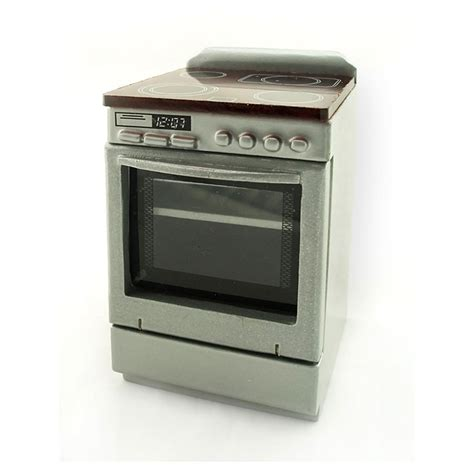 kitchen appliance combo cooking stove oven combo dollhouse miniature appliance