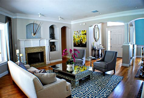 Glamorous Bernhardt Interiors mode Orlando Eclectic Living