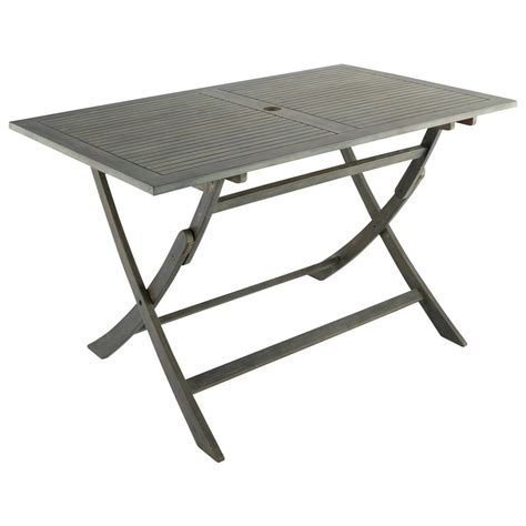 Small Outdoor Folding Table Acacia Folding Garden Table W 130cm Malo Maisons Du Monde