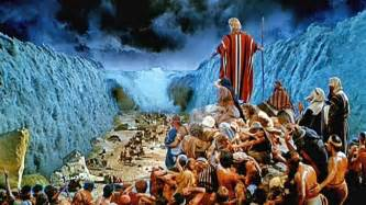 Moses favoured by god or opportunistic showman credit paramount