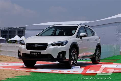 subaru philippines first drive 2018 subaru 2 0i s philippine car news