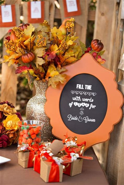 fall themed bridal shower decorations 17 best ideas about autumn bridal showers on