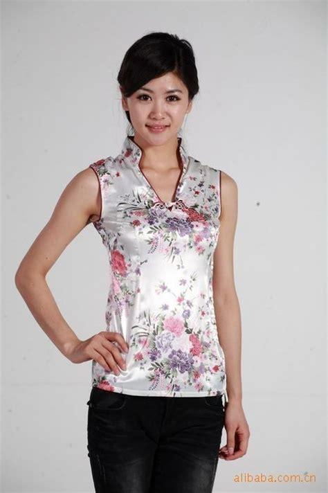 Kacika Batik Saten Dress Navy blusas de china imagui