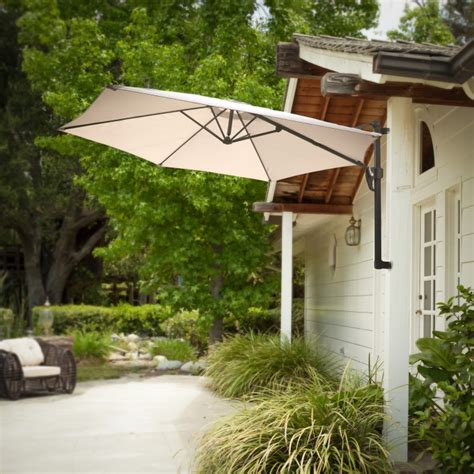 Wall Mounted Patio Umbrella 45 Patio Umbrella Ideas Sun Shade Sail Designs For Backyard