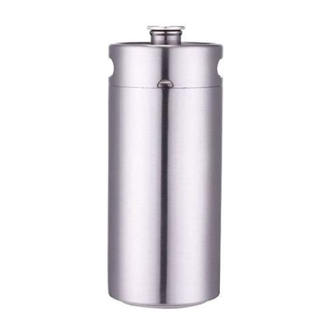 1 gallon stainless steel growler 128oz stainless steel growler high quality 1 gallon mini