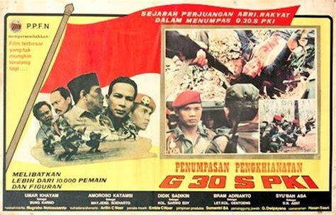film pki com wow tvone berani tayangkan film g30s pki ini jadwalnya