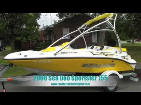 2006 sea doo sportster 155 for sale!!! youtube