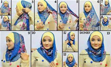 Kreasi Jilbab Segi Empat how to wear my style