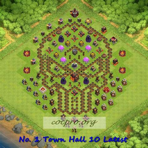 coc layout clan war latest th10 farming trophy defensing war base layouts