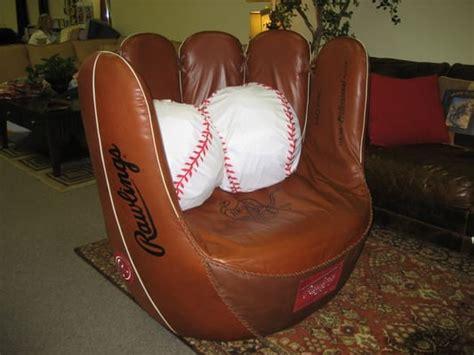 baseball glove sofa custom baseball glove chair yelp